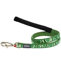 Reddingo Circadelic Desenli Yeşil Uzatma Köpek Tasması 20 Mm