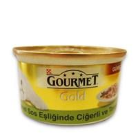 Gourmet Gold Beşamel Sos Eşliğinde Ciğerli Tavşanlı Kedi Konservesi 85 Gr - 6 Adet