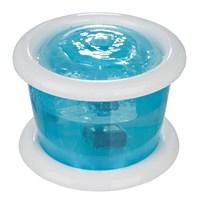 Trixie Köpek Otomatik Su Kabı, 3Lt, Mavi/Beyaz