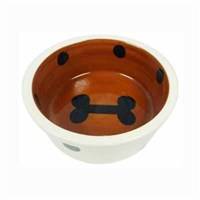 Lilli Pet Pet Bowl Bone Köpek Mama Ve Su Kabı 12.5 Cm 8021