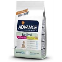 Advance Cat Sterilized +10 İleri Yaşlı Kısırlaştırılmış Kedi Maması 1.5Kg