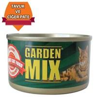 GardenMix Jöleli Tavuklu Ciğerli Ezme Konserve Mama 85 gr