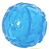 Karlie Kauçuk Köpek Oyuncağı Top Çap 8Cm Mavi