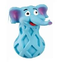 Karlie Latex Hayvanlar Kopek Oyuncagı Mavi