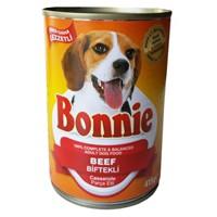 Bonnie Biftekli & Parça Etli Köpek Konserve 415 Gr