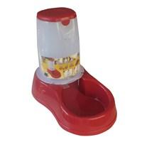 Stefanplast Takviyeli Mama Kabı Kırmızı 3,5 lt