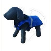 Pet Style Reflektörlü Anorak Mavi Köpek Kıyafeti No:4