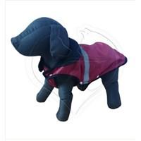 Pet Style Reflektörlü Anorak Kırmızı Köpek Kıyafeti No:12