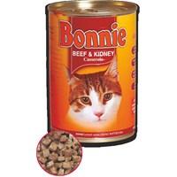 Bonnie Kedi Konserve Biftek & Böbrek Parça Etli 385 gr kk