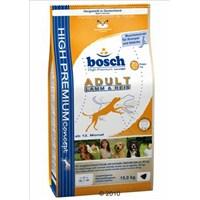 Bosch Kuzulu Ve Pirinçli Yetişkin Kuru Köpek Maması 3 Kg
