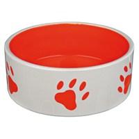 Köpek Seramik Mama ve Su Kabı 1,4 Litre 20 cm