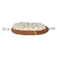 Trixie kedi peluş yatak , 70×55cm , kahve/krem