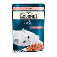 Pro Plan Gourmet Perle Izgara Somonlu Yaş Kedi Maması 85 gr *24 Adet