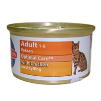 85 Gr x12'li Hills Science Feline Optimal Care With Chicken & Tavuklu Konserve Kedi Maması
