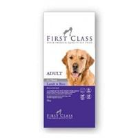 FirstClass Adult Lamb Rice Kuzulu Köpek Maması 12 Kg