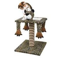 Ranna Üç Farklı Şekil Alan Leopar Kedi Tırmalama - 54 cm