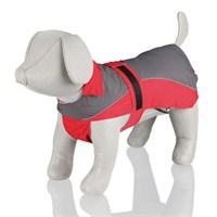 Trixie Köpek Yağmurluğu L:60Cm Kırmızı/Gri