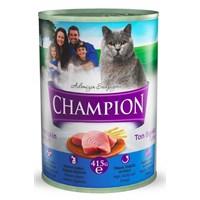 Champion Ton Balıklı Yaş Kedi Konserve Maması 415 gr FD*