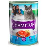Champion Somon Balıklı Kedi Konserve Maması 415 gr gk