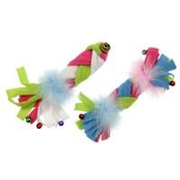 Karlie-Flamingo Peluş Renkli Balık 17Cm