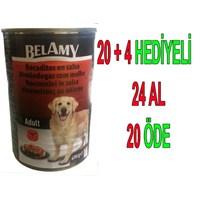 Belamy Biftekli Yetişkin Köpek Konservesi 400 Gr 24'Lü gk