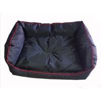Pet Style Dış Mekan Bahçe Köpek Yatağı Siyah No:2 75 X 55 X 10 Cm