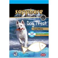 Sapphere Cod Minis Doğal Kurutulmuş Mezgit Balıklı Köpek Ödülü 75Gr