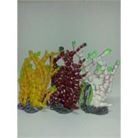 Akvaryum Dekor Fosforlu Bitki Dekor