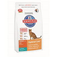 Hill's Science Plan Ton Balıklı Yetişkin Kedi Maması 2 Kg (Adult Optimal Care with Tuna) gk