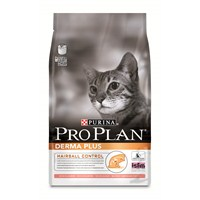 Pro Plan Derma Plus Hairball Somon Balıklı Kedi Maması 3 Kg