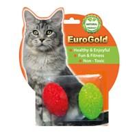 Eurogold Zilli Renkli Yumurta Kedi Oyuncağı