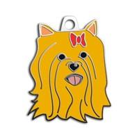 Dalis Pet Tag - York Shıre Terrıer Köpek Künyesi - Kızıl (İsimlik)