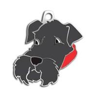 Dalis Pet Tag - Schnauzer Köpek Künyesi (İsimlik)