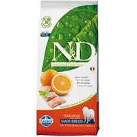 N&D Naturel Delicious Balıklı Portakallı Tahılsız Köpek Maması 12 kg