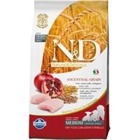 N&D Tavuk Etli Narlı Düşük Tahıllı 2,5 Kg Yavru Köpek Maması