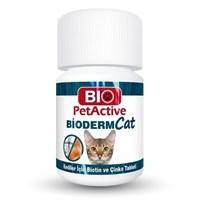 Biopetactive Çiğneme Tableti Bıodermcat (Biotin Ve Çinko Tableti) 30Gr