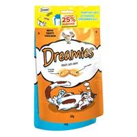 Dreamies Tavuk+Somon Kedi Ödül Maması (%25 İndirimli) 120Gr
