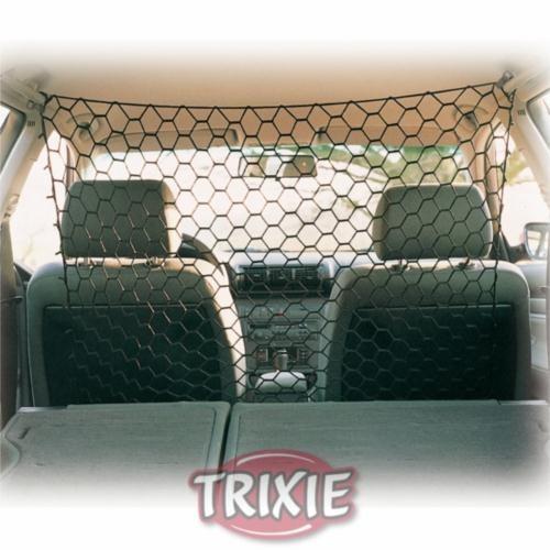 Trixie köpek için araba arkası ağı 1x1m siyah