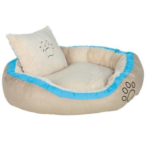 Trixie Extra Yumuşak Yikanabilir Kumaş Köpek Yatağı 80X65 Cm (Turkuaz)