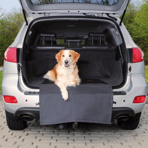 Köpek için bagaj örtüsü 1,64x1,25m siyah