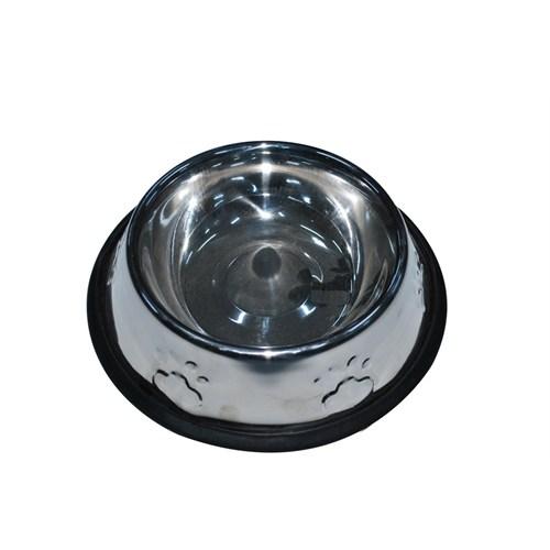 Pet Creaing 24 Oz Kabartmalı Çelik Köpek Mama Kabı