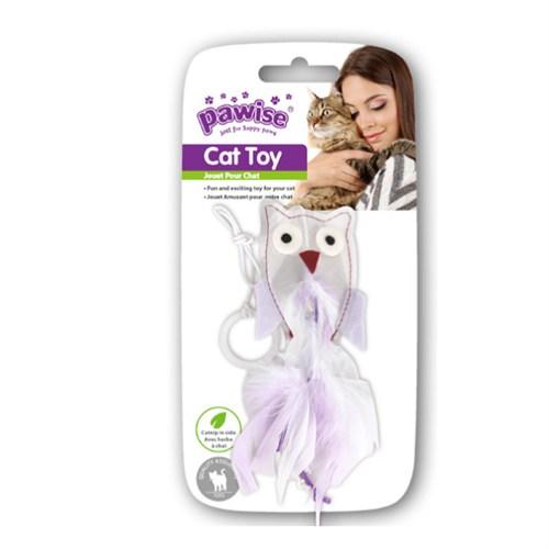 Pawise Kristal Baykuş Kedi Oyuncaği