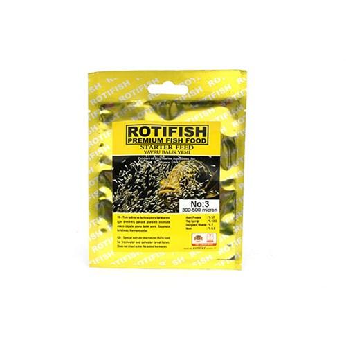 Rotifish Balık Yavru Yavru Yemi No:3 10 Gr