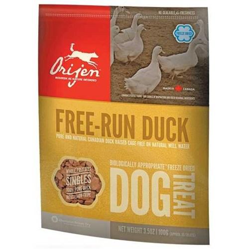 Orijen Freeze-Dried Suyu Çekilmiş Ördek Taze Et Köpek Ödülü 100 Gr
