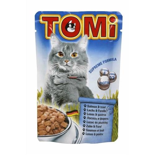 Tomi Somonlu Ve Alabalıklı Kedi Konservesi 100 Gr 939812