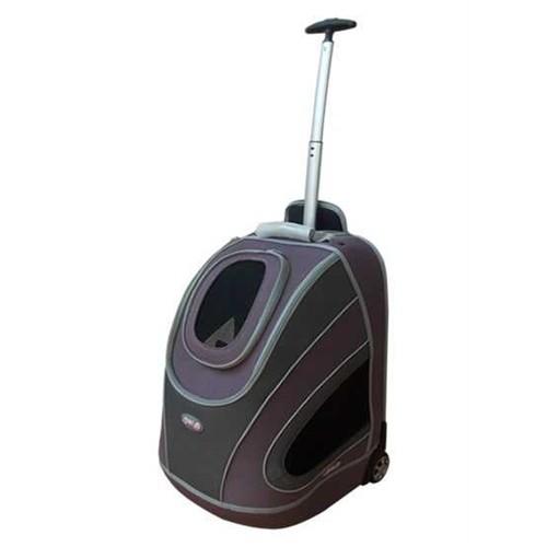 Percell Tekerlekli Valiz Kedi Köpek Taşıma Çantası