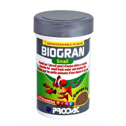 Prodac Biogran Small Küçük Taneli Granür Yem 100 Ml 35 Gr