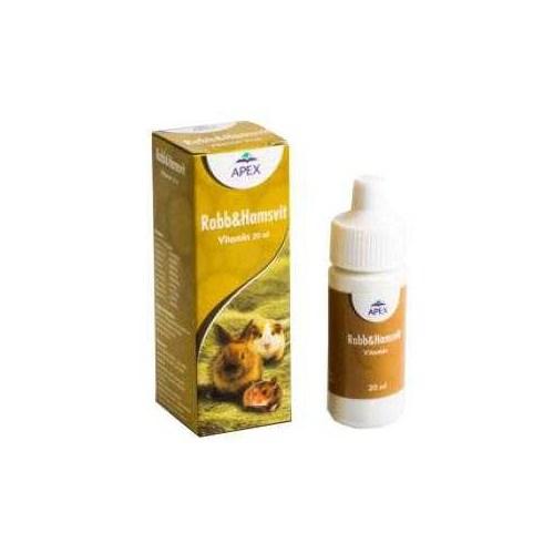 Apex Rabb&Hamsvit Tavşan Ve Hamster Vitamini 20 Ml I045