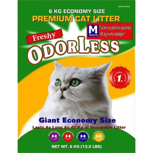 Freshy Odorless Kedi Kumu Eco Paket M Micro