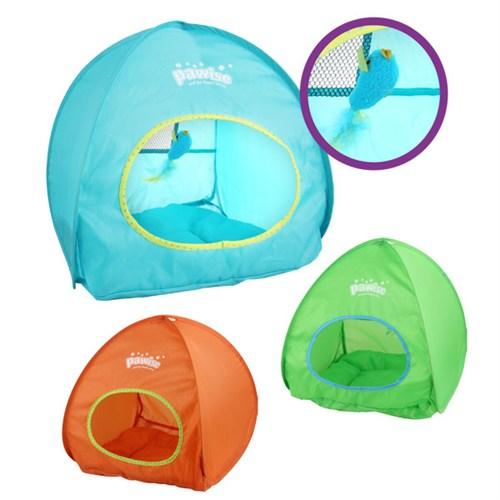 Pawise Kuş Oyuncaklı Kedi Çadırı 40X46,5 Cm